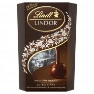 Lindt Lindor Extra Dark Pralinki z czekolady gorzkiej z nadzieniem 200 g