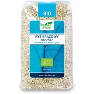 Bio Planet Ryż okrągły pełnoziarnisty bio 500 g