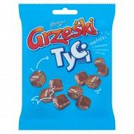 Grześki Tyci Mini wafelki z kremem o smaku kakaowym w czekoladzie mlecznej 140 g