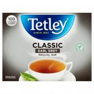 Tetley Classic Earl Grey Herbata czarna 160 g (100 x 1,6 g)