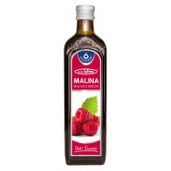 Oleofarm Sok z malin 100% 490 ml