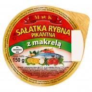 MK Sałatka rybna pikantna z makrelą 150 g