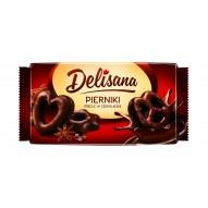 DELISANA Pierniki precle w czekoladzie 400g