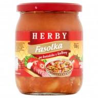 Herby Fasolka po bretońsku z kiełbasą 500 g
