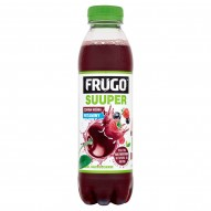 Frugo Suuper Czarna wiśnia + witaminy Napój niegazowany 500 ml
