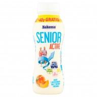 Bakoma Senior Active Jogurt z brzoskwiniami oraz z wapniem i witaminą D 230 g