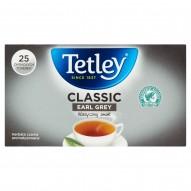 Tetley Classic Earl Grey Herbata czarna aromatyzowana 40 g (25 x 1,6 g)