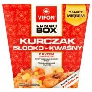 Vifon Lunch Box Danie błyskawiczne kurczak słodko-kwaśny 177 g