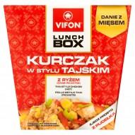 Vifon Lunch Box Danie błyskawiczne kurczak w stylu tajskim 179 g