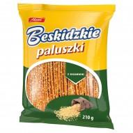 Aksam Beskidzkie Paluszki z sezamem 210 g