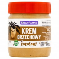 NaturAvena Krem orzechowy kokosowy 340 g