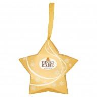 Ferrero Rocher Chrupiący wafelek z kremowym nadzieniem i orzechem laskowym w czekoladzie 37,5 g