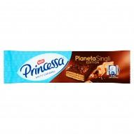 Princessa Wafel z kremem z solonym karmelem posypany płatkami pszennymi w deserowej czekoladzie 31 g