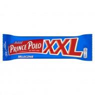 Olza Prince Polo XXL Mleczne Kruchy wafelek z kremem kakaowym oblany czekoladą mleczną 50 g