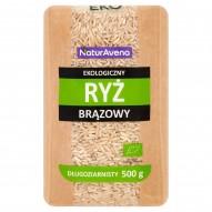 NaturAvena Ekologiczny ryż brązowy długoziarnisty 500 g