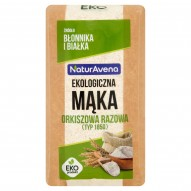 NaturAvena Ekologiczna mąka orkiszowa razowa typ 1850 500 g