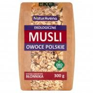 NaturAvena Ekologiczne musli owoce polskie 300 g