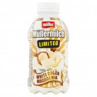 Müller Müllermilch Napój mleczny o smaku białej czekolady i orzechów makadamia 400 g