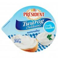 Président Twaróg Delikatny naturalny 200 g