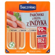 Tarczyński Parówki z fileta z indyka 180 g (2 x 90 g)