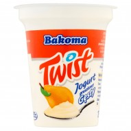 Bakoma Twist Jogurt gruszkowy gęsty 135 g