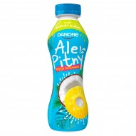 Danone ale Pitny Napój jogurtowy ananas kokos 290 g