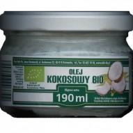 Bio olej kokosowy nierafinowany 190g Radix-Bis