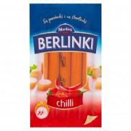 Morliny Berlinki Kiełbasa chilli 250 g