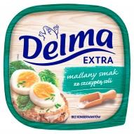 Delma Extra Margaryna o smaku masła ze szczyptą soli 450 g