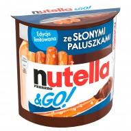 Nutella & Go Krem do smarowania z orzechami laskowymi i kakao oraz słone paluszki 54 g