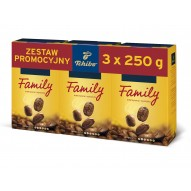 Tchibo Family 3x250g mielona