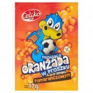 Celiko Oranżada w proszku o smaku pomarańczowym 17 g
