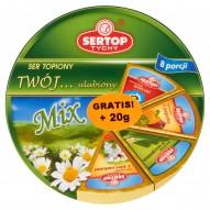 Sertop Tychy Mix Twój... ulubiony Ser topiony 160 g (8 porcji)