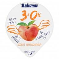 Bakoma 3x0% Jogurt brzoskwiniowy 140 g