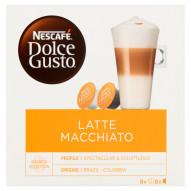 Nescafé Dolce Gusto Latte Macchiato Kawa w kapsułkach 194,4 g (8 x 17,8 g i 8 x 6,5 g)