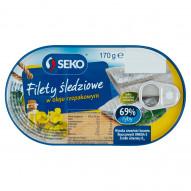 Seko Filety śledziowe w oleju rzepakowym 170 g