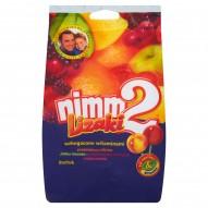 nimm2 lizaki wzbogacone witaminami oraz sokiem w 4 owocowych smakach 80 g (8 sztuk)