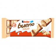 Kinder Bueno White Wafel w białej czekoladzie z mleczno-orzechowym nadzieniem 39 g (2 x 19,5 g)