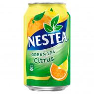 Nestea Green Tea Napój herbaciany z ekstraktem zielonej herbaty o smaku cytrusowym 330 ml