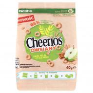 Nestlé Cheerios Owsiany Płatki śniadaniowe jabłko & cynamon 40 g