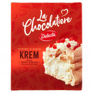 Delecta La Chocolatiere Krem smak Irish Cream z białą czekoladą 65 g
