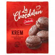 Delecta La Chocolatiere Krem smak czekoladowe Brownie z nutą trufli 80 g
