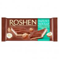 Roshen Czekolada mleczna z nugatem orzechowym 90 g
