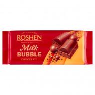Roshen Czekolada z bąbelkami mleczna 80 g