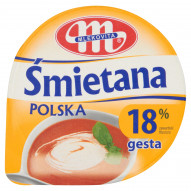 Mlekovita Śmietana Polska gęsta 18% 200 g
