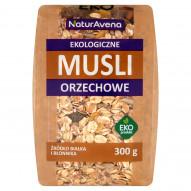 NaturAvena Ekologiczne musli orzechowe 300 g