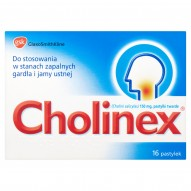 Cholinex 150 mg Pastylki twarde 16 pastylek