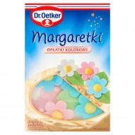 Dr. Oetker Margaretki opłatki kolorowe 15 sztuk