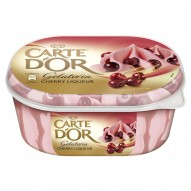Carte D'Or Gelateria Cherry Liqueur Lody 900 ml