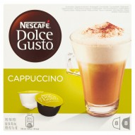 Nescafé Dolce Gusto Cappuccino Kawa w kapsułkach 200 g (16 sztuk)